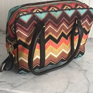 Missoni travel bag.  So cute!